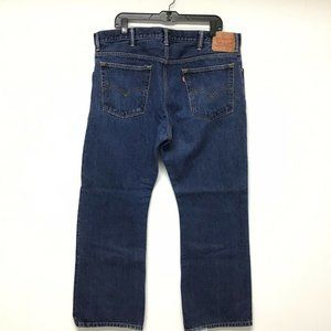 Levi's 517 Jeans Men's Size 40 x 30 Boot Cut Dark
